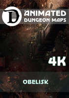 Animated Dungeon Maps: Obelisk 4k