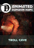 Animated Dungeon Maps: Troll Cave