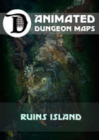 Animated Dungeon Maps: Ruins Island