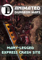 Advanced Animated Dungeon Maps: Many-Legged Express Crash Site