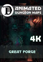 Advanced Animated Dungeon Maps: Great Forge 4k