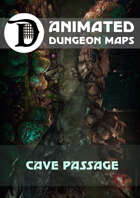 Animated Dungeon Maps: Cave Passage