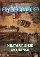 Cybermaps: Military Base Entrance