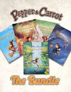 All Pepper&Carrot hardcover books [BUNDLE]