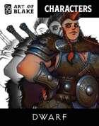 Character Stock Art - Dwarf Art Pack