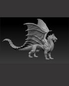 Dragon 7 - STL - 3d Print