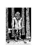 Lumberjack - Sock Art