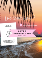 PDF | LOVE ORACLE CARDS 3 | TEXT ONLY | NO GRAPHIC