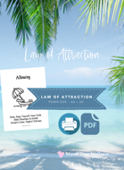 THE PDF VERSION | LAW OF ATTRACTION CARDS | TEXT ONLY | NO GRAPHICS | BY ISLAND TIME WELLNESS
