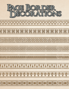 Page Border Decorations (Heroes & Villains of the Old World)