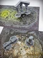 WHU Season 1 - 3D Printable Miniature Hex Terrain Ruins