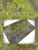 """Broken Ground"" Gaming Mat, 8'x4'"