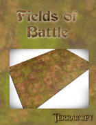 Fields of Battle Gaming Mat 6x4