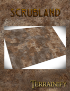 Scrubland Gaming Mat 44x60 Strike Force
