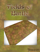 Fields of Battle Gaming Mat 44x90 Onslaught