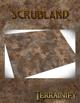 Scrubland Gaming Mat 3x3