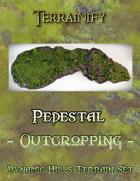 Dynamic Hills: Pedestal Outcropping