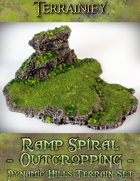 Dynamic Hills: Ramp Spiral Outcropping