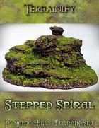 Dynamic Hills: Stepped Spiral