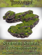 Dynamic Hills: Stepped Spiral Outcropping