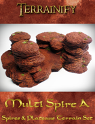 Spires & Plateaus: Multi Spire A