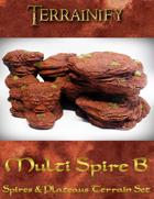 Spires & Plateaus: Multi Spire B