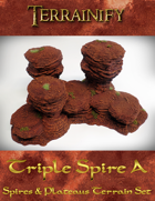 Spires & Plateaus: Triple Spire A