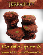Spires & Plateaus: Double Spire A