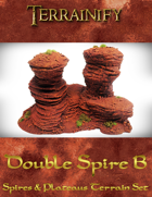 Spires & Plateaus: Double Spire B
