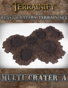 Blast Craters: Multi Crater A