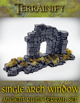 Ancient Ruins: Single Arch Window