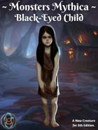 Monsters Mythica: Black-Eyed Child