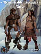 Remarkable Races: Satyrs