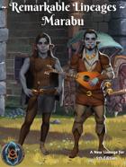 Remarkable Races: Marabu