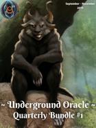 Underground Oracle Quarterly #1 [BUNDLE]