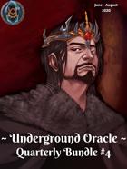 Underground Oracle Quarterly #4 [BUNDLE]