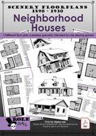 SCENERY FLOORPLANS - Neighborhood Houses