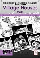 SCENERY FLOORPLANS - Village Houses Vol 1