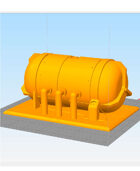 28mm Scale Chemical Storage Tank