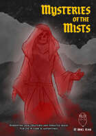 Mysteries of the Mists: Monsters, Spells, and Magic Items for 5e