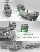 ShipWorks ShipWreck and Battle Damage Addon