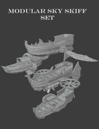 Modular Sky Skiffs