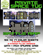 6 sheet BATTLEMAP private space tug
