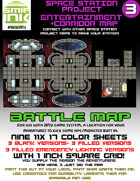 9 sheet BATTLEMAP space station set 3 entertainment