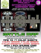 9 sheet BATTLEMAP space station set 3 entertainment