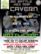 9 sheet BATTLEMAP HEX CAVERN
