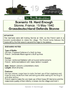 Scenario 19. Free Download to preview Blitzkrieg in the West 1940 Volume I 50 Wargame Scenarios French vs Germans