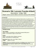 Scenario 164. Free Download to preview Blitzkrieg in the West 1940 Volume IV 42 Wargame Scenarios Belgian vs Germans
