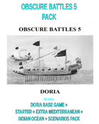 OBSCURE BATTLES 5 - DORIA + MED + INDIAN OCEAN PACK