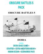 OBSCURE BATTLES 5 - DORIA + MED + INDIAN OCEAN PACK